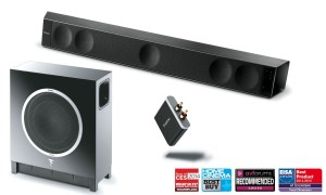 Soundbar FOCAL Dimension + Sub Air + APTX