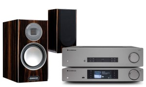 Zestaw audio CAMBRIDGE CXA81-CXNv2-MONITOR AUDIO Gold 100