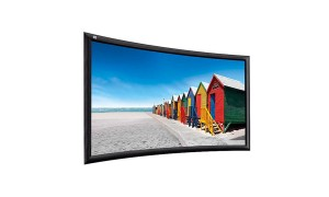 Ekran ramowy ADEO Screen PLANO CURVED 99""