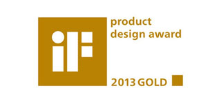 Nagroda iF Design Gold 2013.